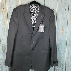 NWT TED BAKER LONDON DEBONAIR PLAIN SUIT